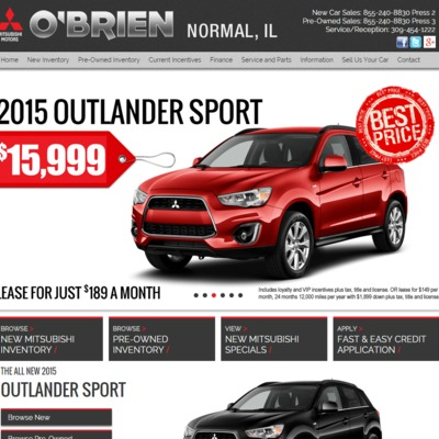 Ou0027Brien Mitsubishi Normal