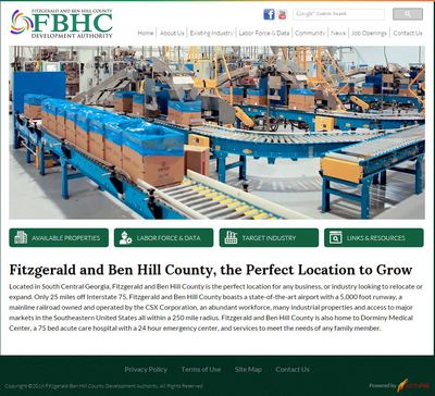 Fitzgerald Ben Hill County Development Authority