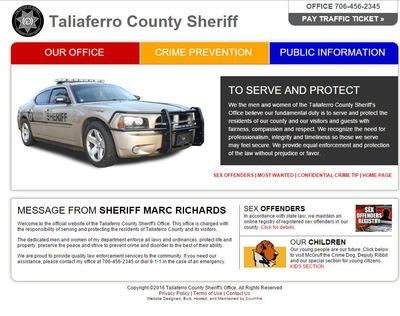 Taliaferro County Sheriff