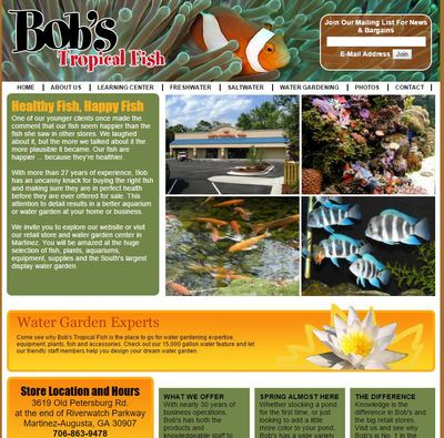 Bob's Tropical Fish
