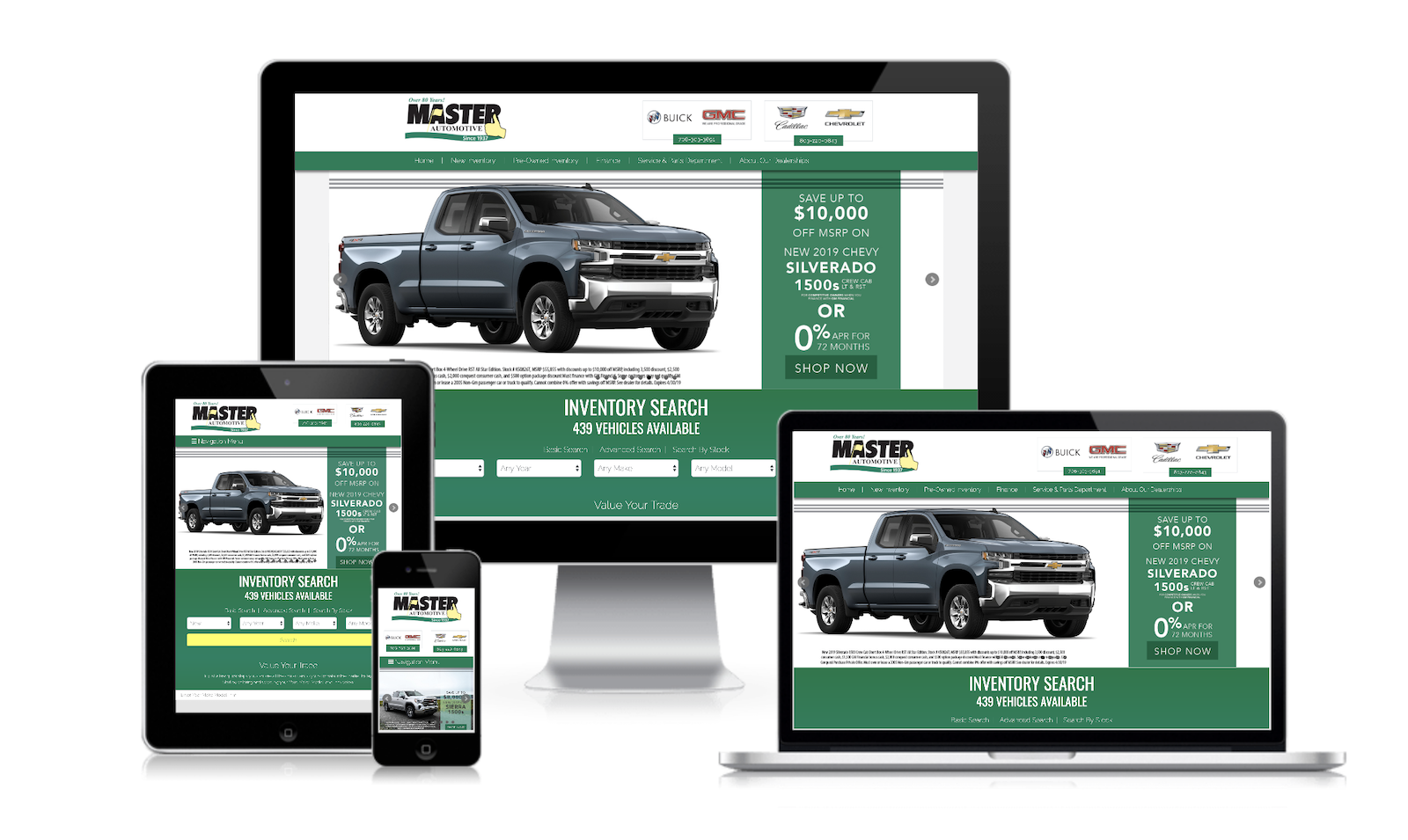 DealerSitePro Custom Car Dealer Websites